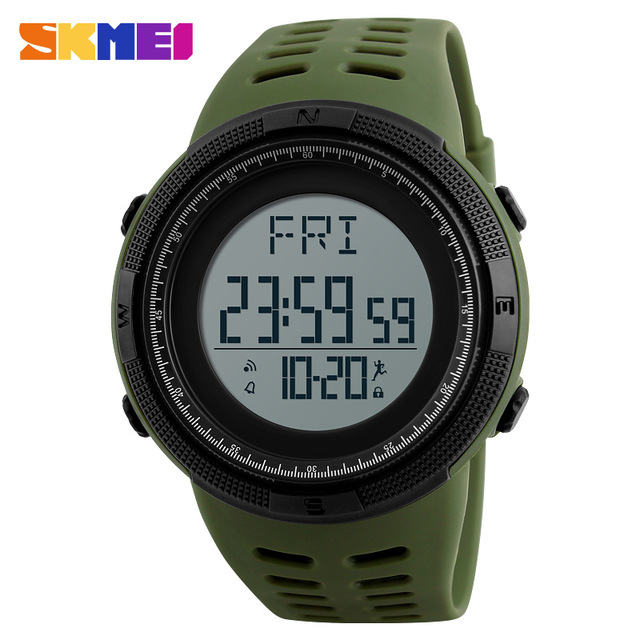 SKMEI 1295 Pedometer Watch